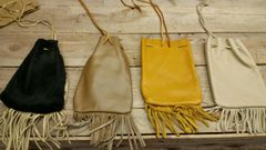 10 pack bundle deal wholesale pack Medicine Bags with fringe / Nugget Bag / Die or Marble Pouch