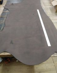 Cow Hide Leather/oil-tanned/Dark Brown/5-6oz/Big Hide/Z3-519