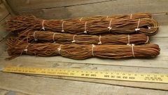 Indian tan leather latigo lace 5-6 ft long (1 big bundle) E9-61