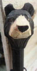 Carved wooden animal cane walking sticks (3 Types)