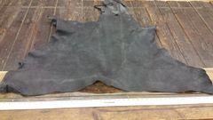 Buffalo double shoulder black color about 12-15 sq ft/ j6-45