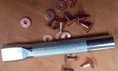 Craftool #9 or #12 size Copper Rivet & Burr Setter