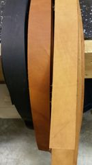 "top grain~Leather strip / straps/belts1/8~1/4~3/8~1/2~5/8~3/4~ 1"" wide A-101 5-6 ft long"