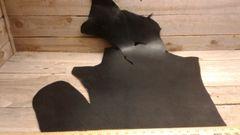 Black Harness Leather (single head) Cow Hide 10 -12 oz-J6-25