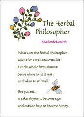 The Herbal Philosopher Soul Card
