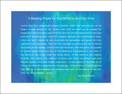 A Blessing Prayer for Your Birthday and Any Time - For Him - Full Page