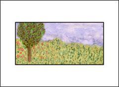 Little Landscape - Watercolor