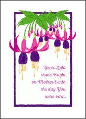 Fuchsia Birthday Wishes
