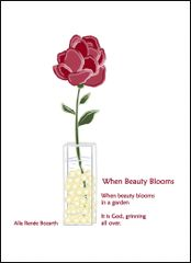 When Beauty Blooms - Soul Card