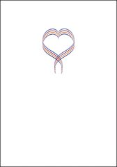 Ribbon Heart Note Cards