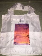 """Open and Enjoy Your Life"" Reusable Shopping Bag"