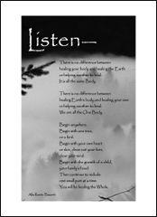 Listen - Soul Card