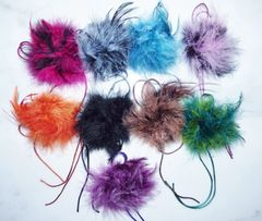 Fur and Feather Brooches