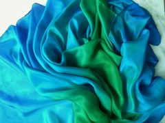 Silk Bellydance Veil Play Silk Sarong Shawl