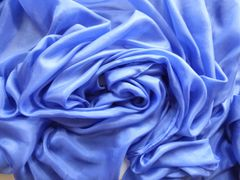 Silk Belly Dance Veil 4 Yard Periwinkle Blue