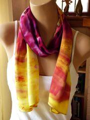 Tye Dyed Bamboo Rayon Scarf