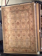Creme and gold all over persian design machine-made.sold out