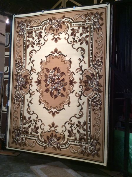 Creme and Tan French Aubusson 8x11 Machinemade .sold out