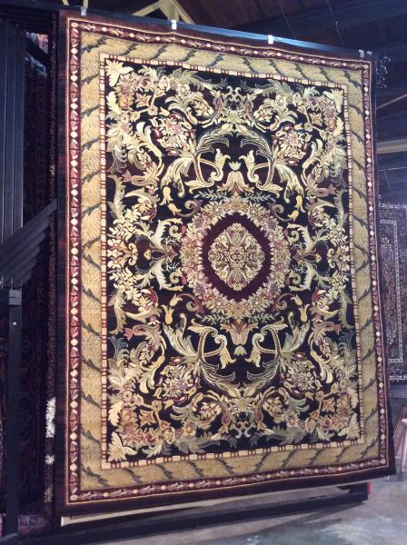 Victoria Gold 8x11 Rug.sold out