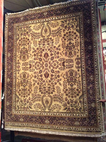 sarogh persian design hand made 8x10