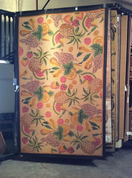 Fruits Cecile 5x8 machine-made rug