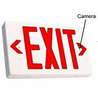 "SecureGuard ""Exit"" Sign Spy Camera EXS720P"