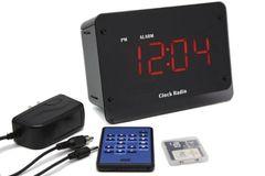 Zone Shield Night Vision Clock Radio DVR - SC8000 (720 x 480)