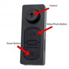B3000: ONE-TOUCH BUTTON CAMERA - FREE 8GB MICROSD