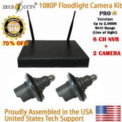 2 Pro Camera & 8CH Pro Standalone NVR Complete Survillance System