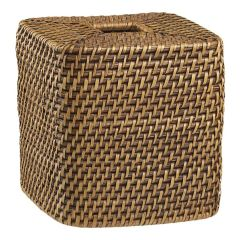 Wicker tissue box cover (30-90 day battery)