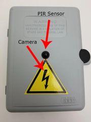 OMNIX ELECTRICAL BOX HIDDEN CAMERA - FREE 16GB MICROSD CARD!