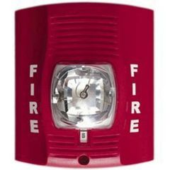Battery Powered SecureGuard Fire alarm strobe light Spy Camera (30 to 90 day battery)
