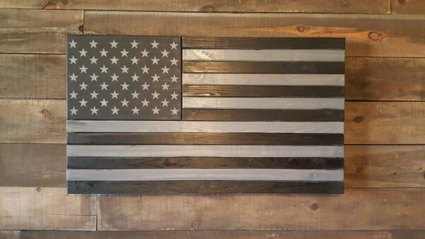 American Flag Gun Case San Tan Woodworks Wooden