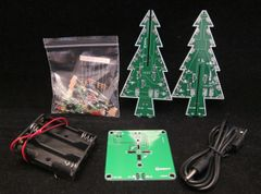 Electronic flashing LED 3D Christmas Tree Project Kit