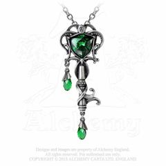Alchemy Key to the Secret Garden necklace