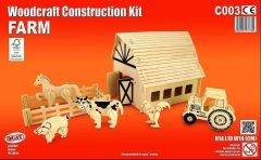 Quay Farm Woodcraft Construction Kit