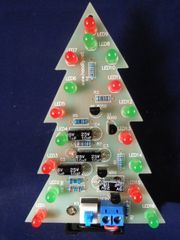 Ready-assembled LED Christmas Tree