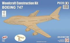 Quay Boeing 747 Woodcraft Construction Kit