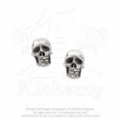 Alchemy Mortuarium stud earrings