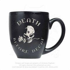 Alchemy 'Death Before Decaf' Mug