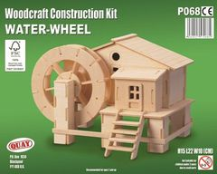 Quay Water-wheel Woodcraft Construction Kit