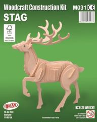 Quay Stag Woodcraft Construction Kit