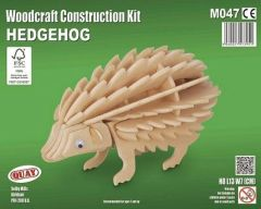 Quay Hedgehog Woodcraft Construction Kit