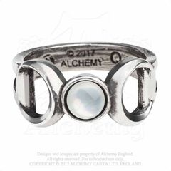 Alchemy Triple Goddess Ring