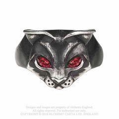 Alchemy Bastet Goddess Ring