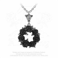 Alchemy Ring O' Roses necklace