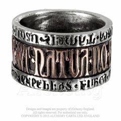 Alchemy Deus et Natura Ring
