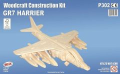 Quay GR7 Harrier Woodcraft Construction Kit