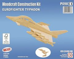 Quay Eurofighter Typhoon Woodcraft Construction Kit