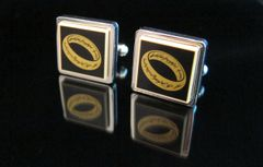 Steampunk Lego® Lord of the Rings 'The Ring' cufflinks